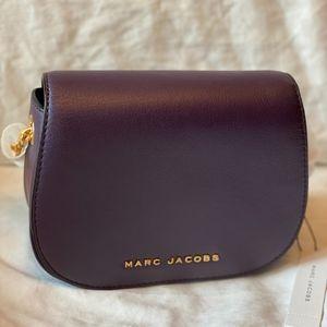 NEW Leather Marc Jacobs Avenue Purple Crossbody